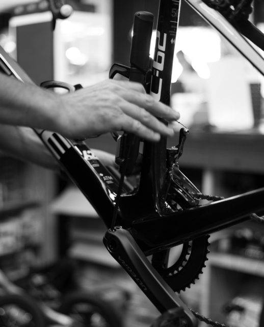 We specialise in bike servicing for all jobs, big and small. ⁠ ⁠ Book your bike in for a service with our experienced team today, link in bio⚒️